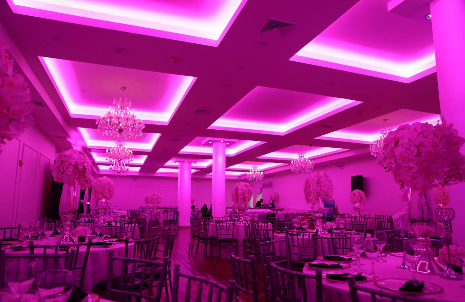 Grand Slam Banquet Hall Tirso Lighting